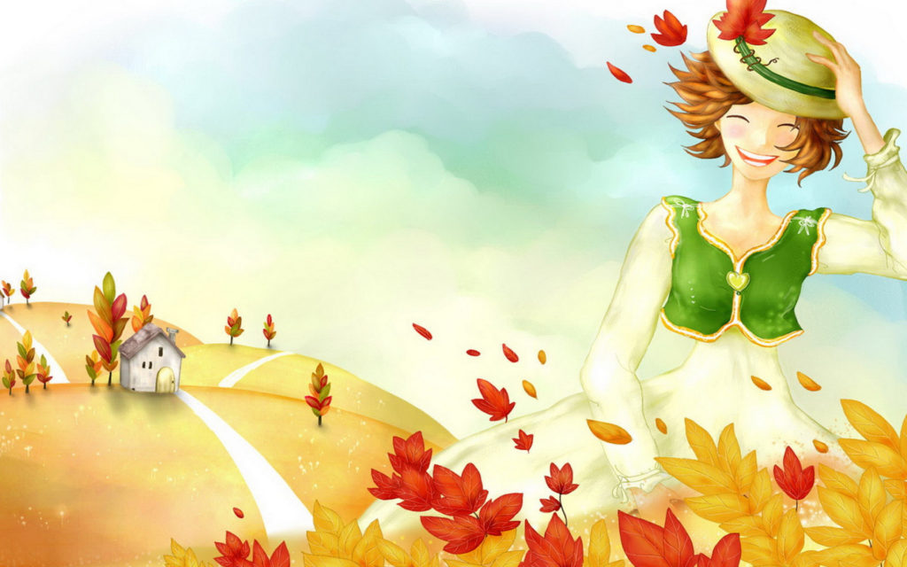 Fall Widescreen Background