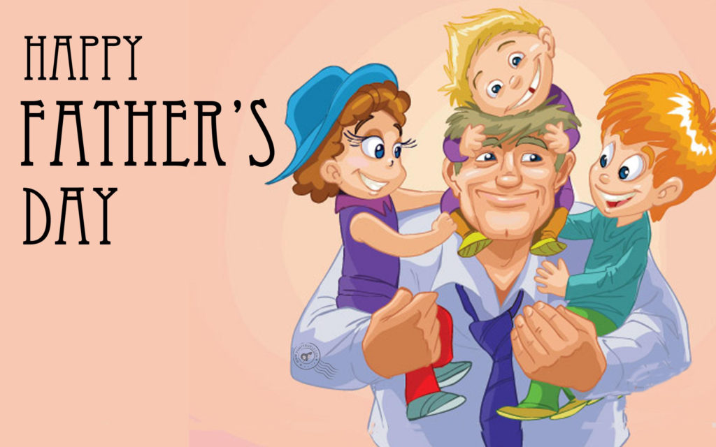 Father's Day Widescreen Background