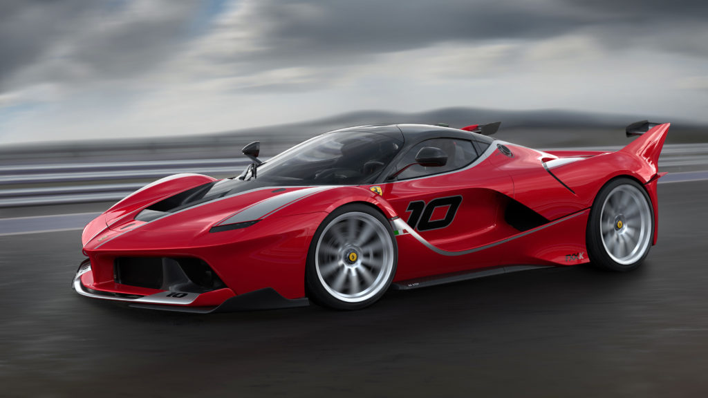 Ferrari FXX Wallpaper 4096x2304