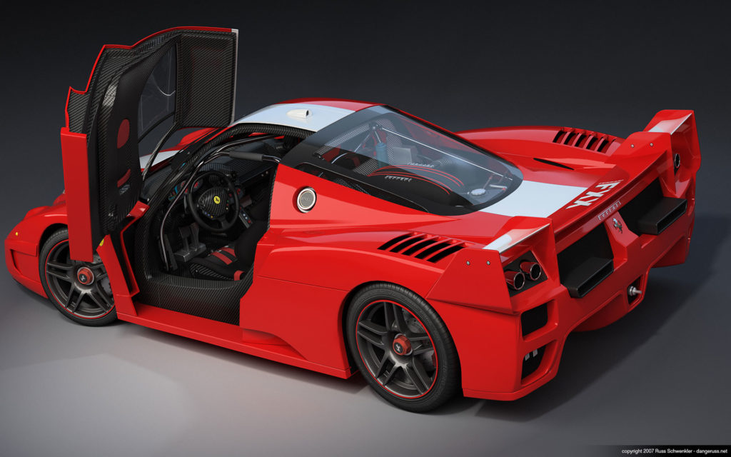 Ferrari FXX Widescreen Wallpaper 1920x1200