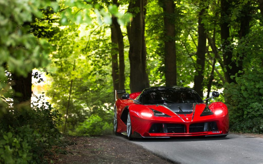 Ferrari FXX Wallpaper 2048x1280