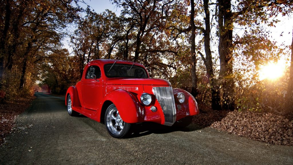 Ford Coupe Full HD Wallpaper