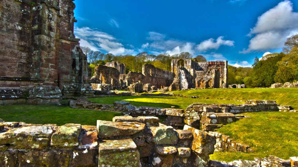 Furness Abbey Full HD Wallpaper