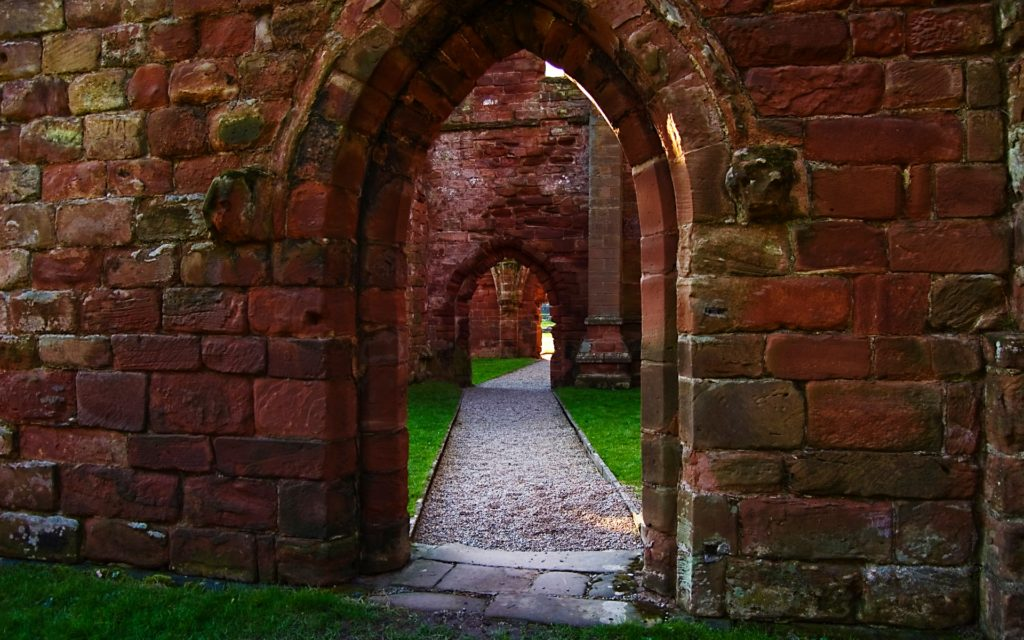 Furness Abbey Widescreen Wallpaper