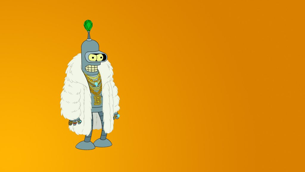 Futurama Full HD Background