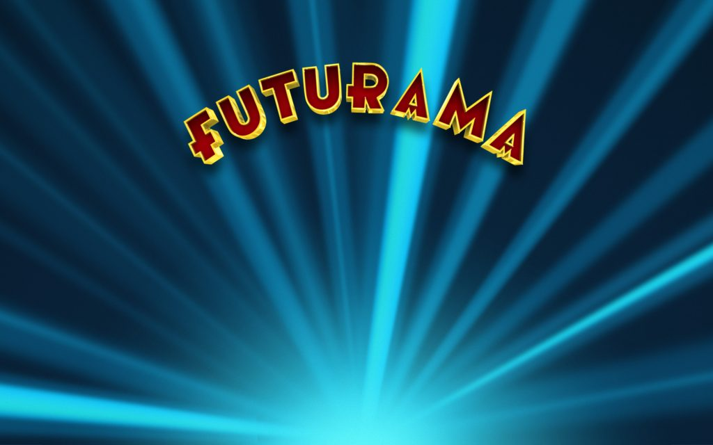 Futurama Widescreen Background