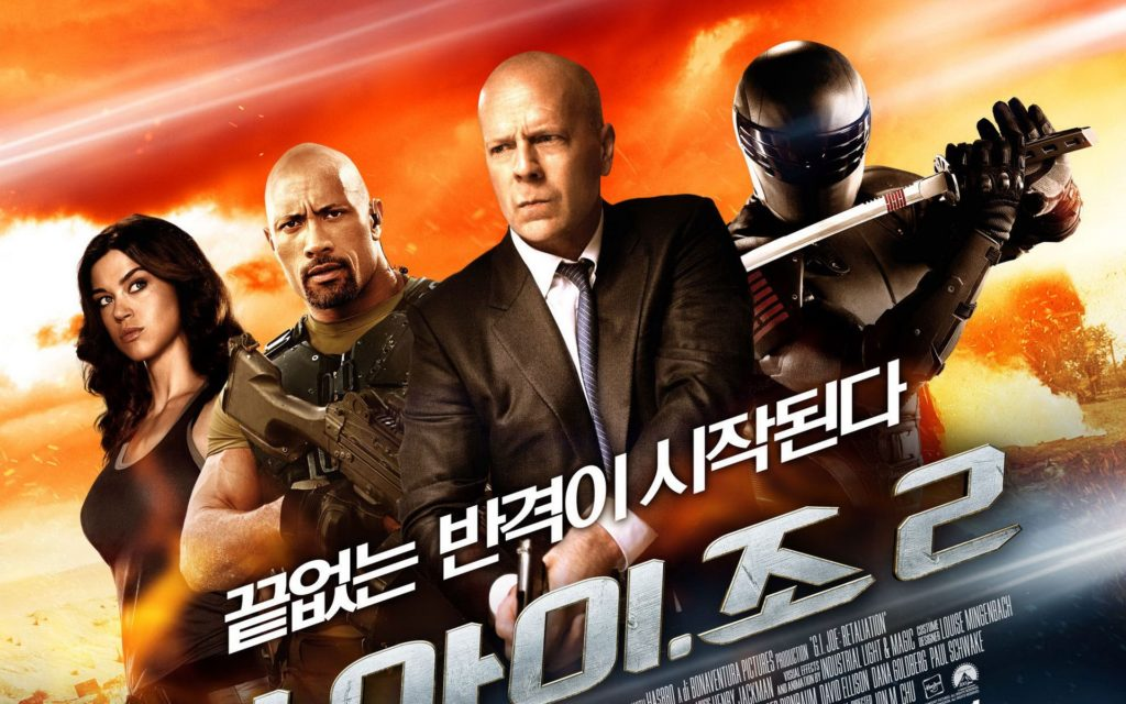 G.I. Joe: Retaliation Widescreen Wallpaper