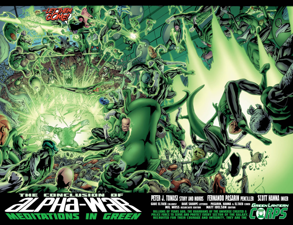 Green Lantern Corps Wallpaper