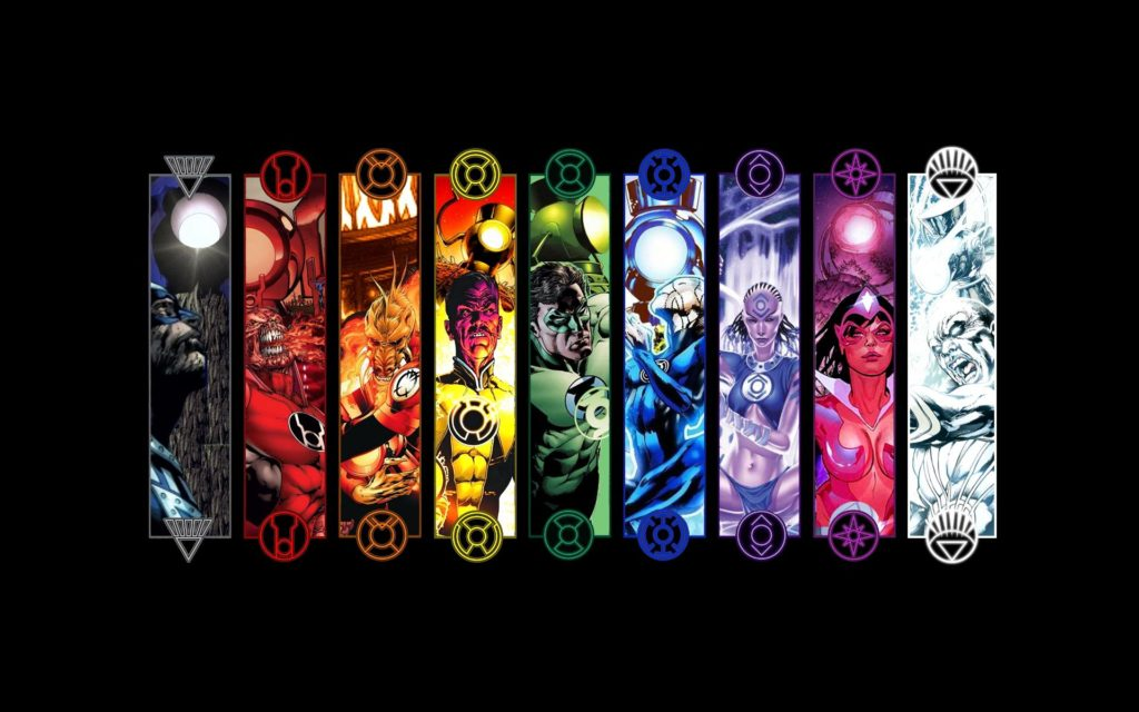 Green Lantern Corps Widescreen Wallpaper