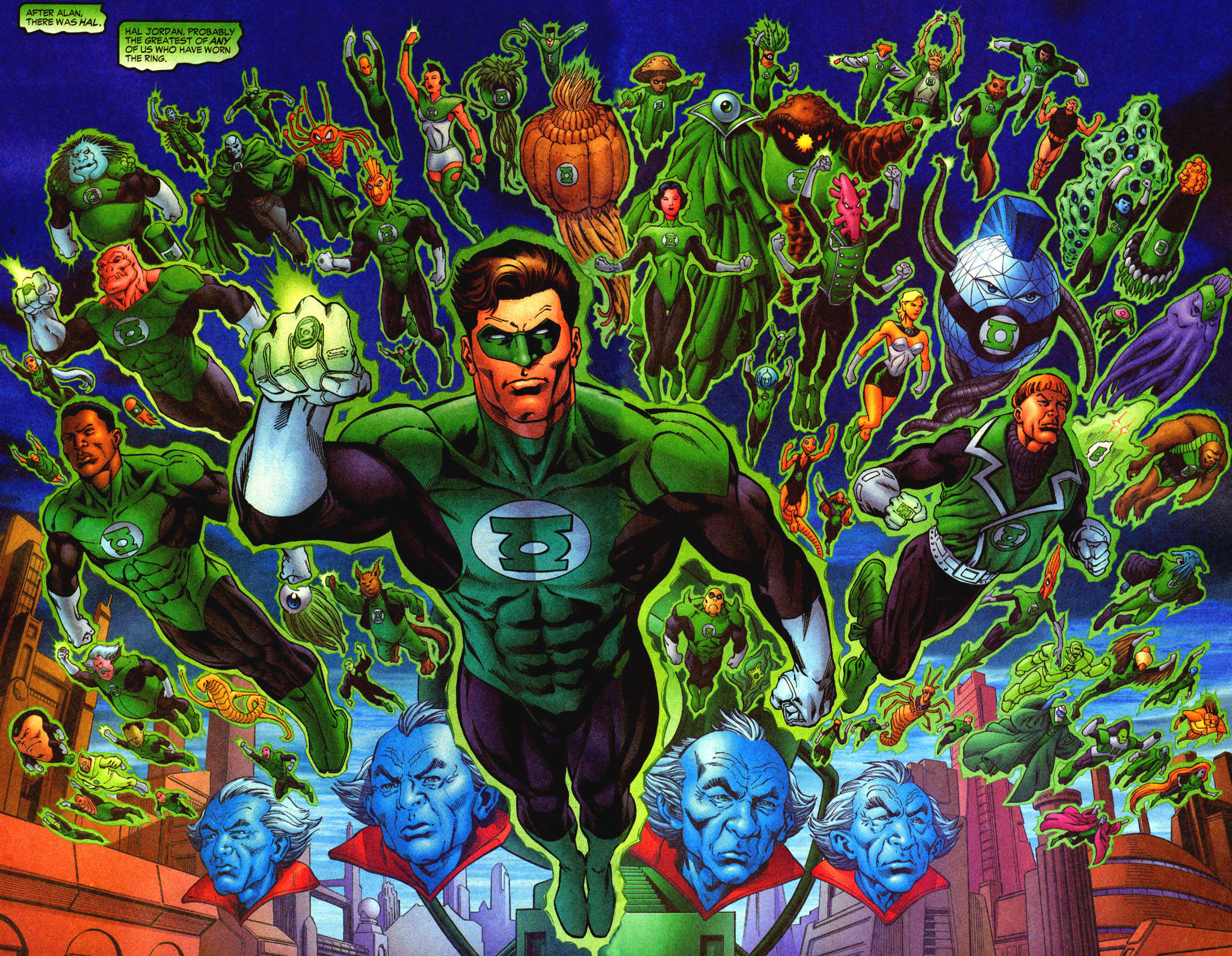 Green Lantern Corps Wallpapers, Pictures, Images