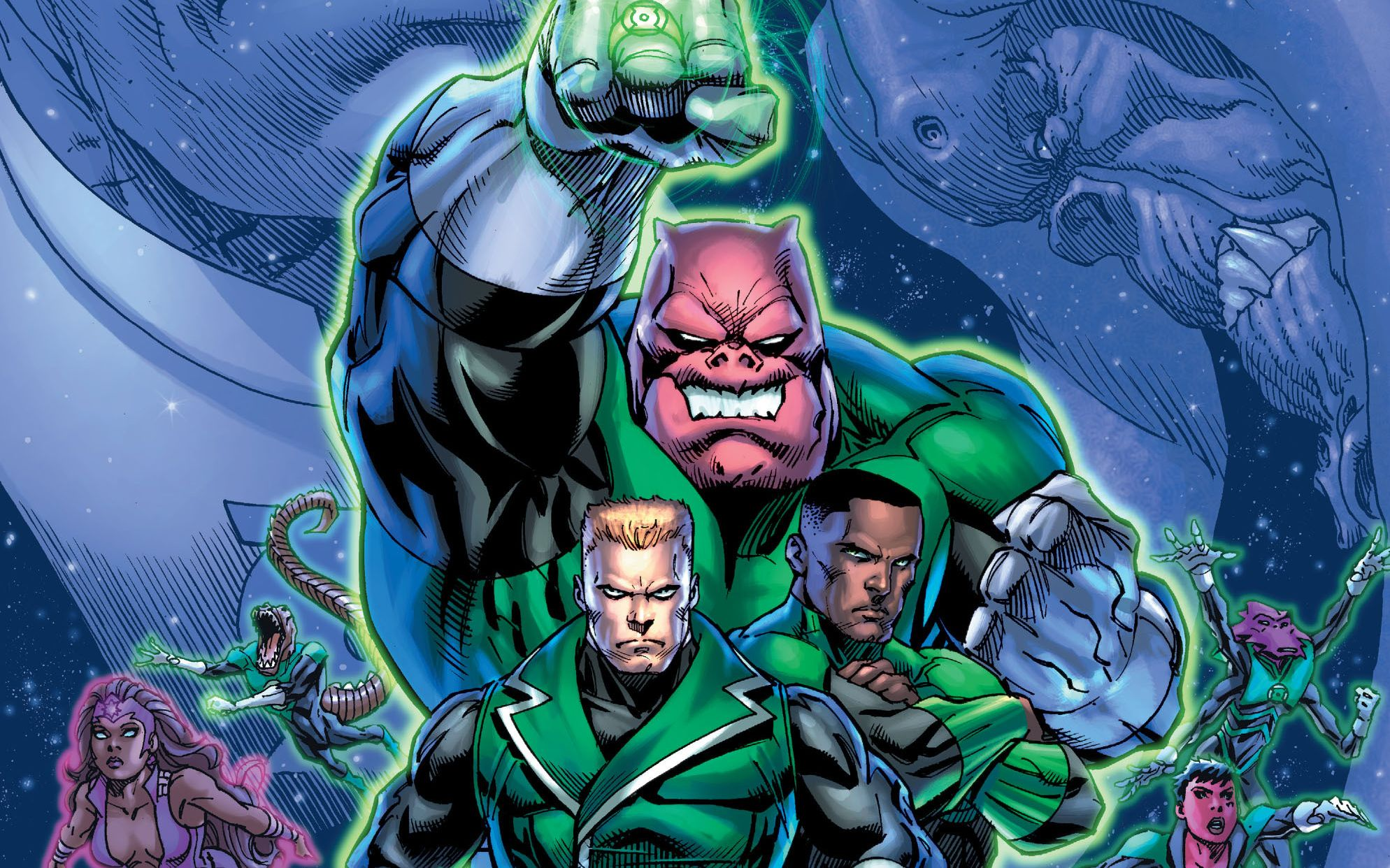 green lantern corps wallpapers pictures images. Black Bedroom Furniture Sets. Home Design Ideas