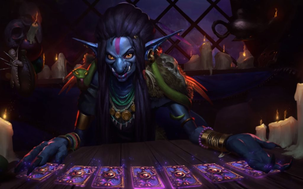 Hearthstone: Heroes Of Warcraft Widescreen Wallpaper