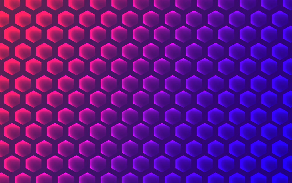 Hexagon Widescreen Wallpaper