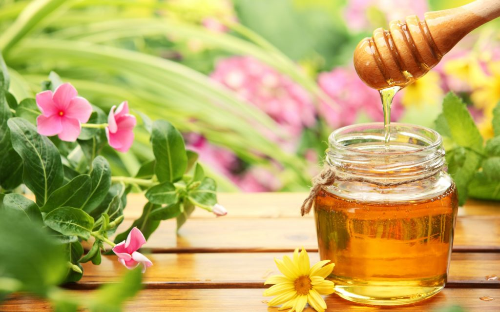 Honey Widescreen Wallpaper