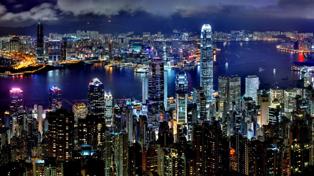 Hong Kong Full HD Background