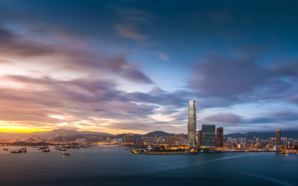 Hong Kong Widescreen Background
