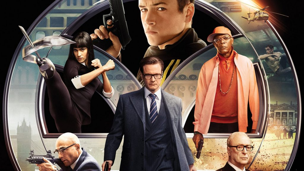 Kingsman: The Secret Service Full HD Wallpaper