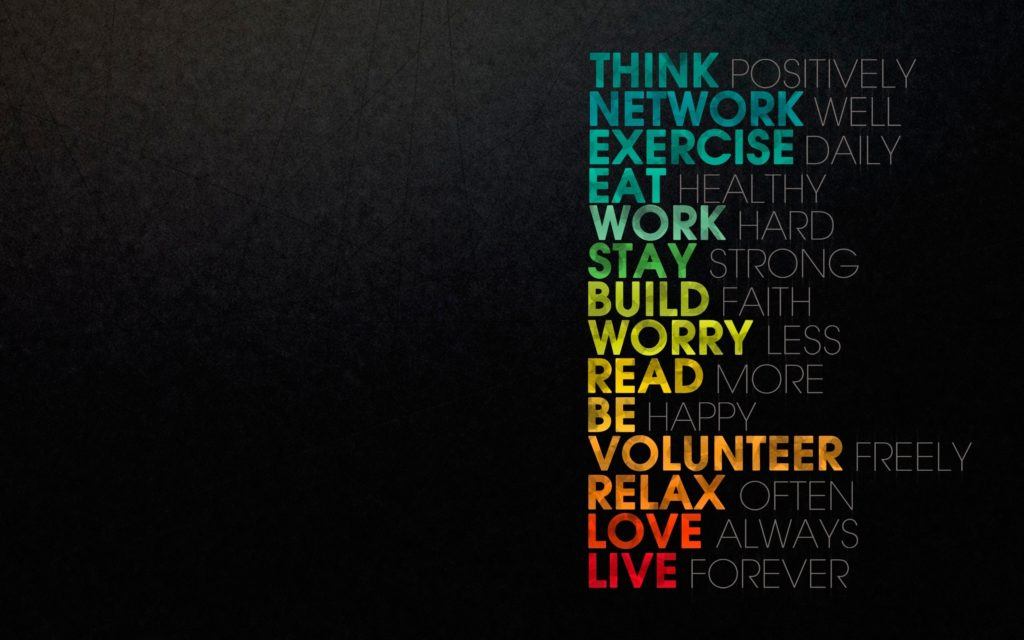 Motivational Widescreen Background