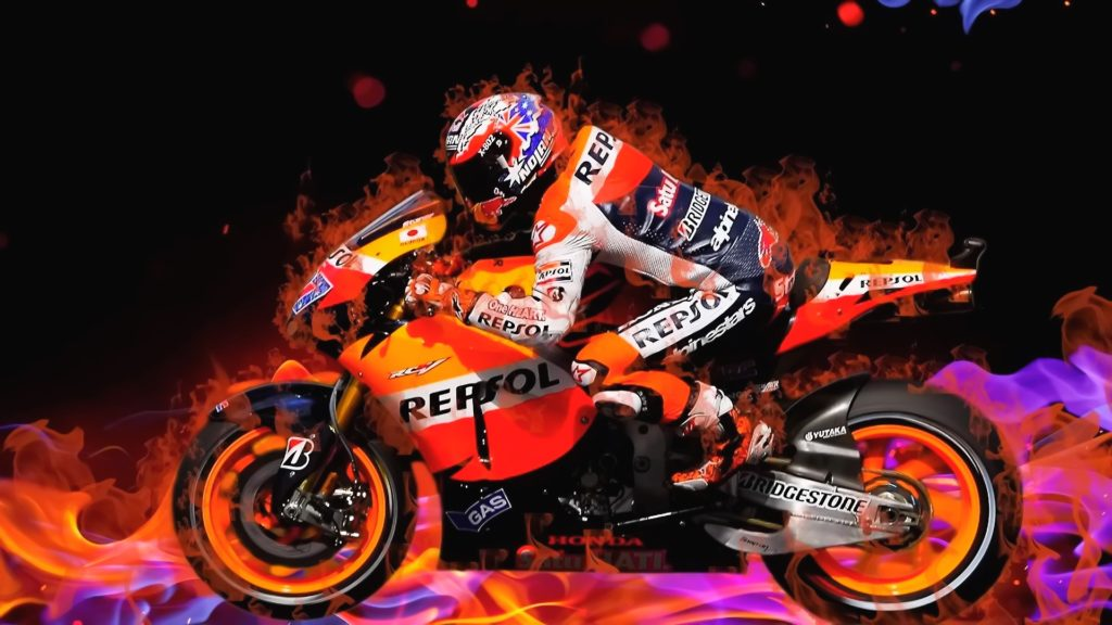 Motorcycle Racing Full HD Wallpaper