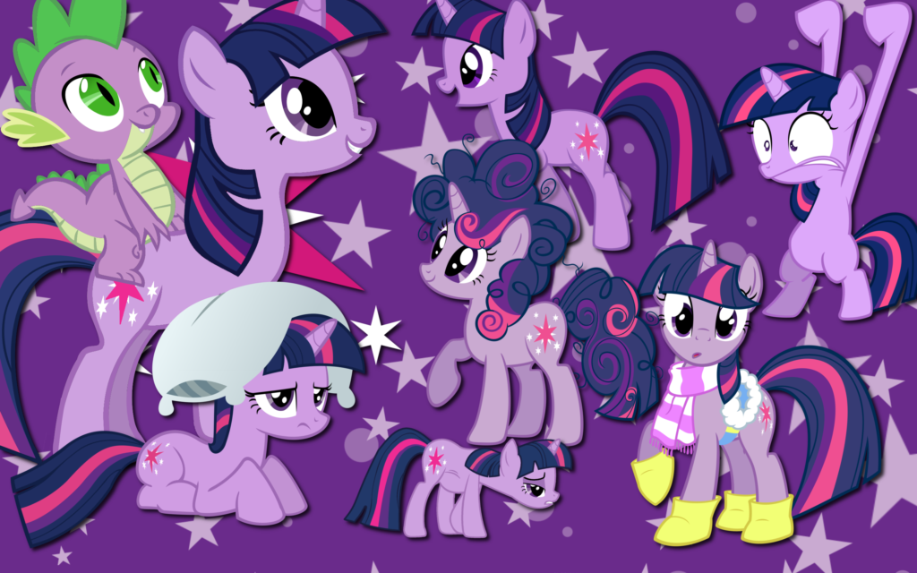 My Little Pony: Friendship Is Magic Widescreen Wallpaper