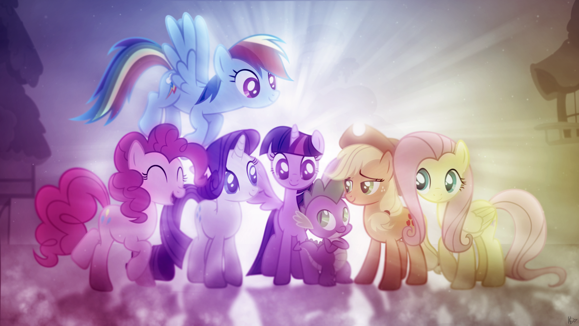 my little pony friendship is magic full hd wallpaper