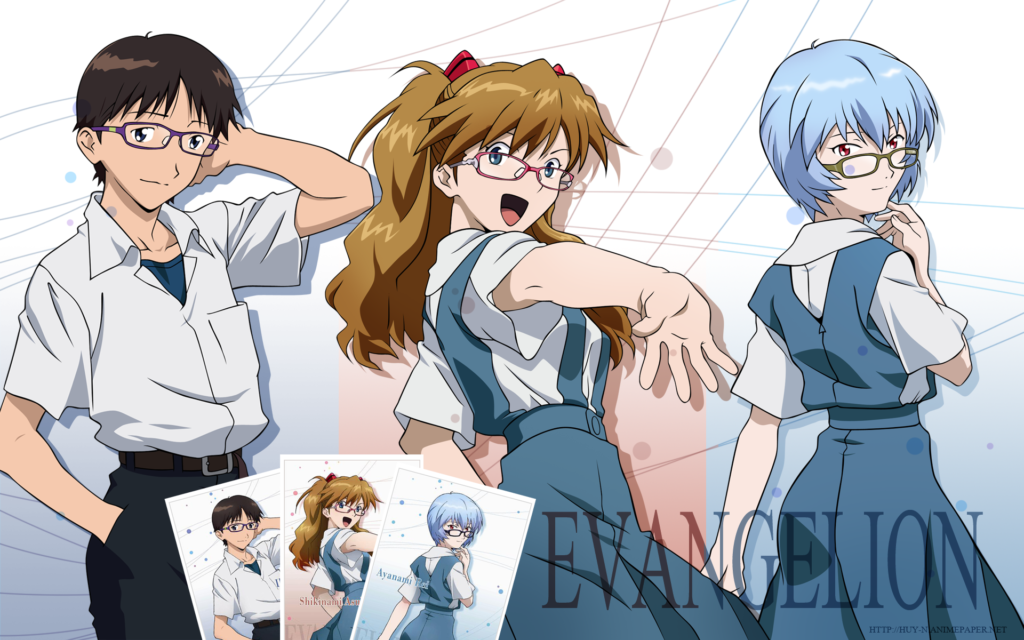 Neon Genesis Evangelion Widescreen Wallpaper