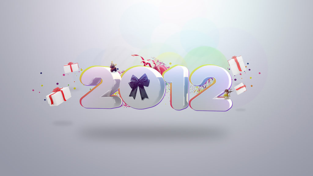 New Year 2012 Widescreen Wallpaper