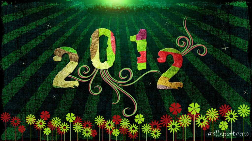 New Year 2012 Full HD Wallpaper