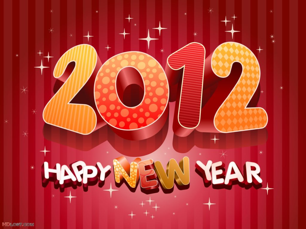 New Year 2012 Wallpaper