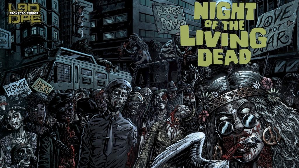 Night Of The Living Dead Full HD Wallpaper