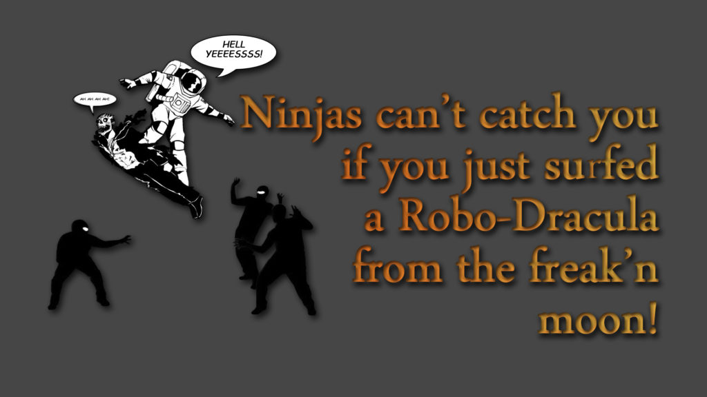 Ninja Full HD Wallpaper