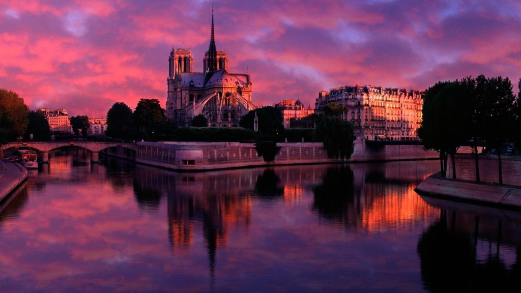 Notre Dame De Paris Full HD Wallpaper