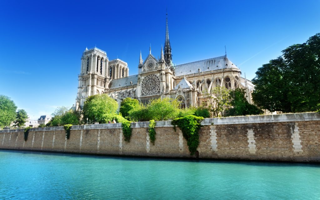 Notre Dame De Paris Widescreen Wallpaper