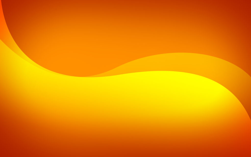 Orange Widescreen Wallpaper