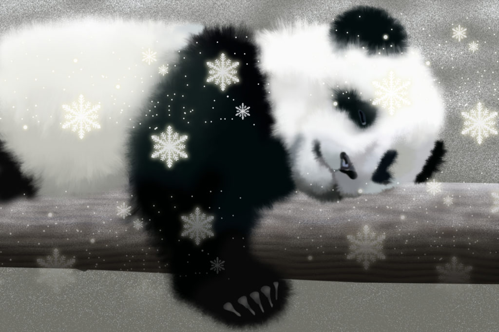 Panda Background