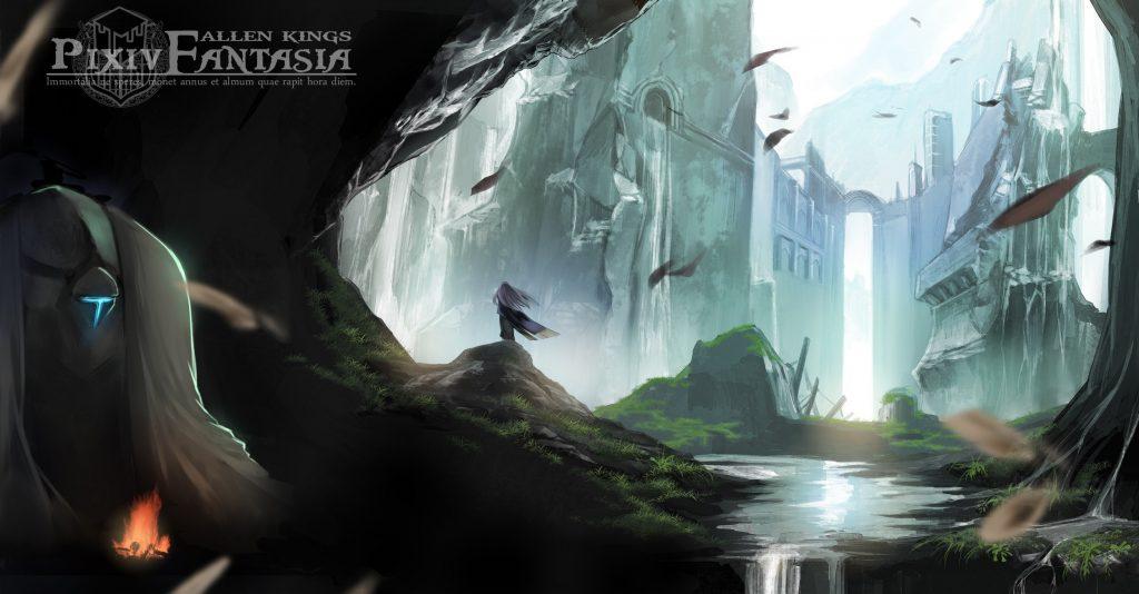 Pixiv Fantasia Fallen Kings Wallpaper