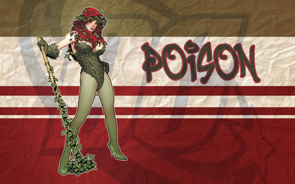 Poison Ivy Widescreen Wallpaper 1680x1050