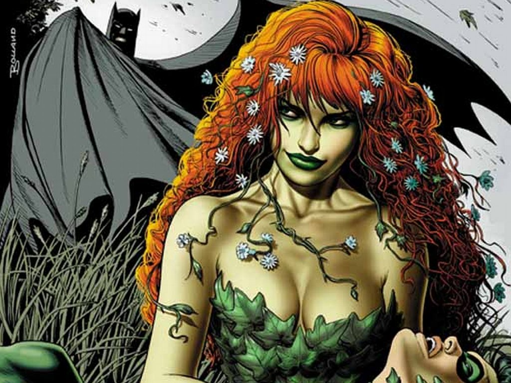 Poison Ivy Wallpaper 1280x960