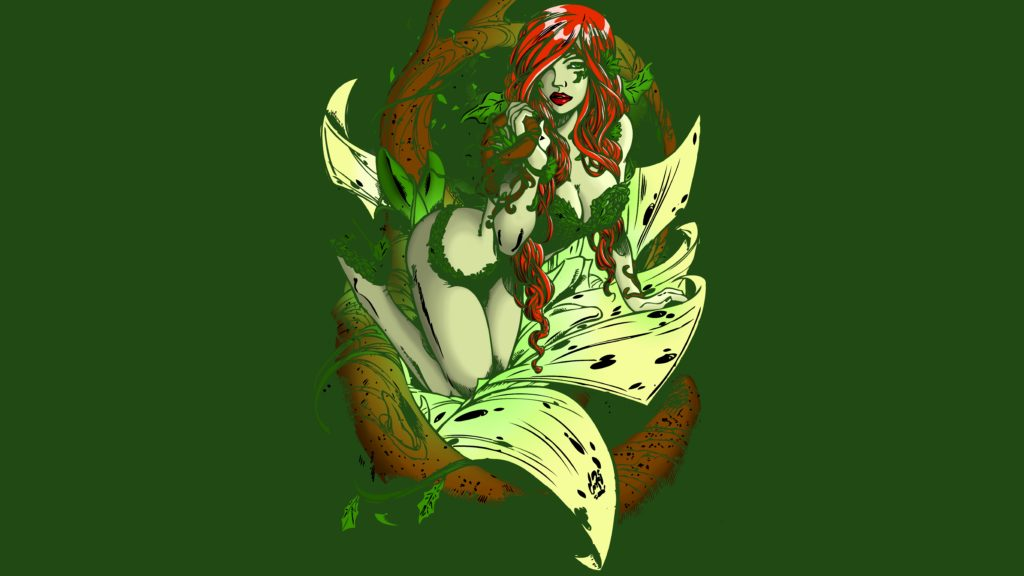 Poison Ivy Wallpaper 9900x5569