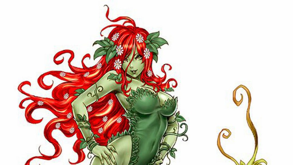 Poison Ivy Full HD Wallpaper 1920x1080