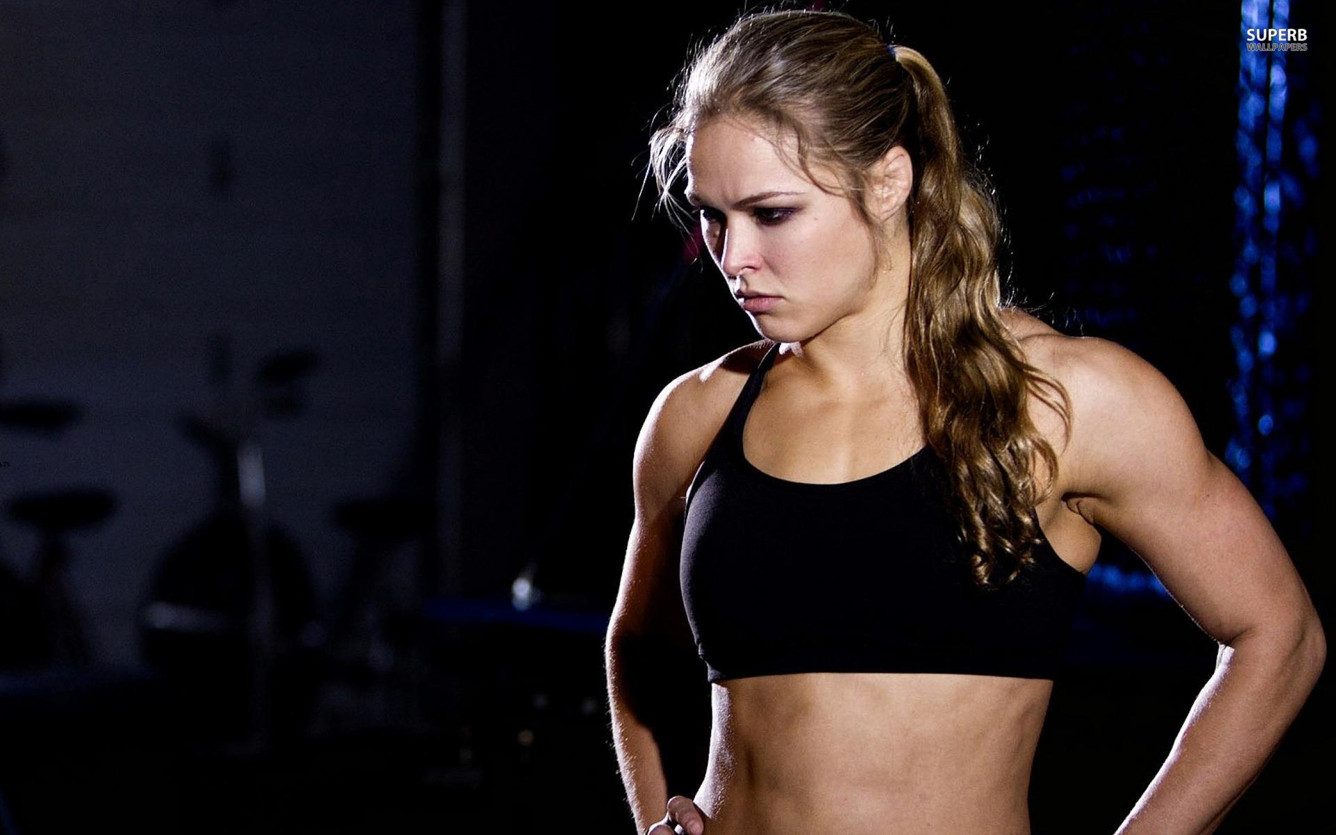 Ronda Rousey Widescreen Wallpaper