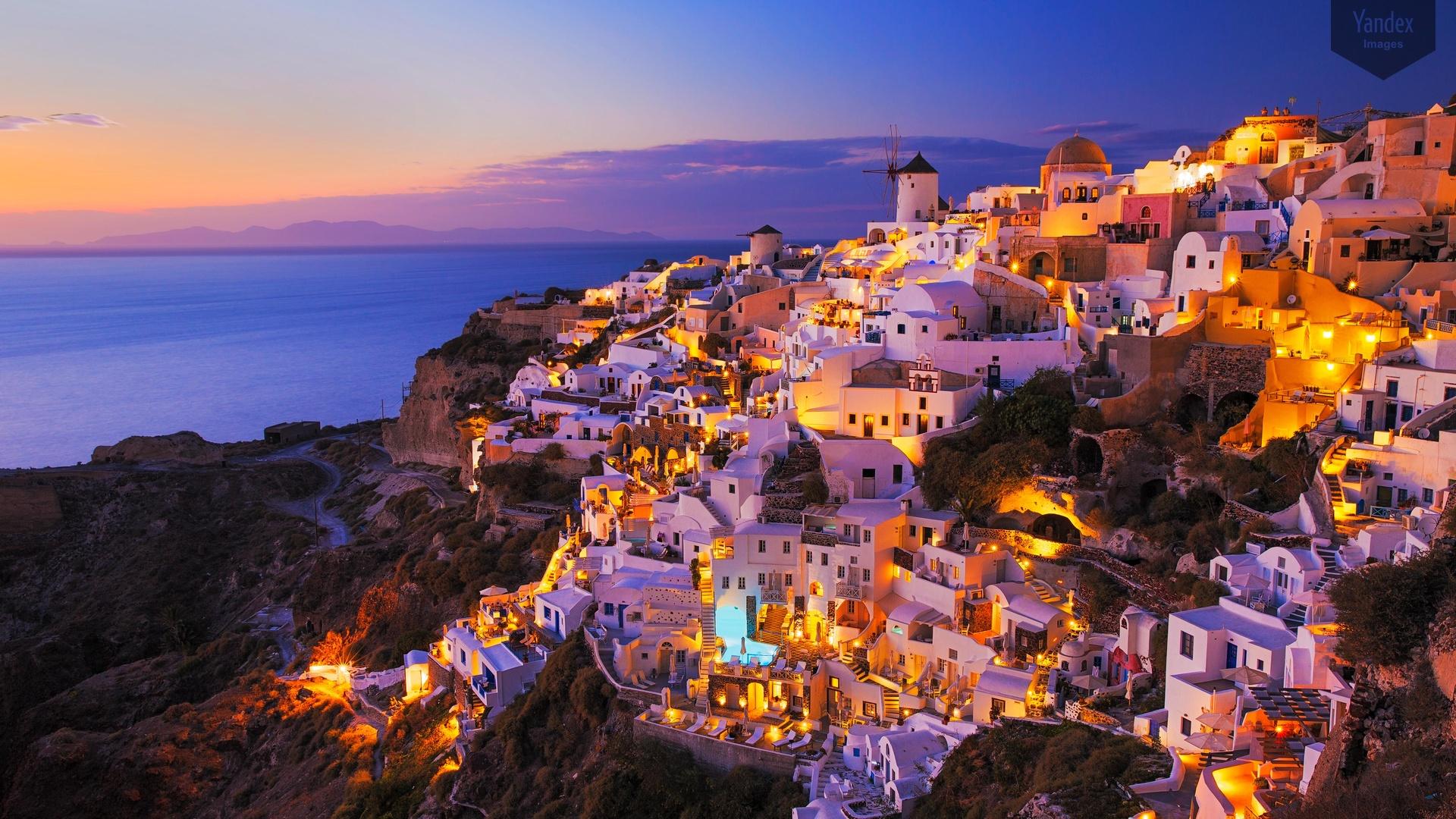 greece wallpapers santorini hd - photo #22
