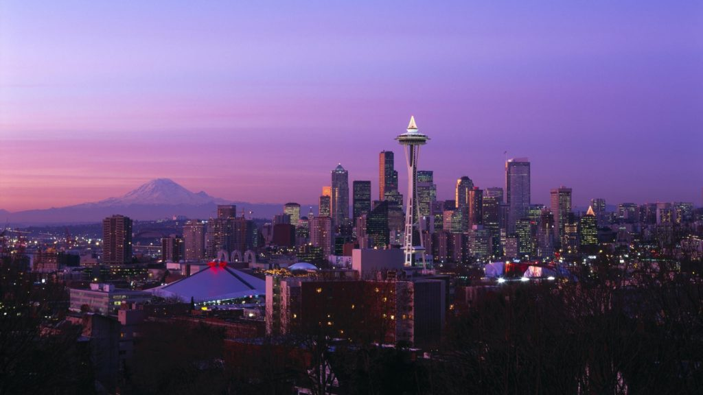 Seattle Full HD Wallpaper