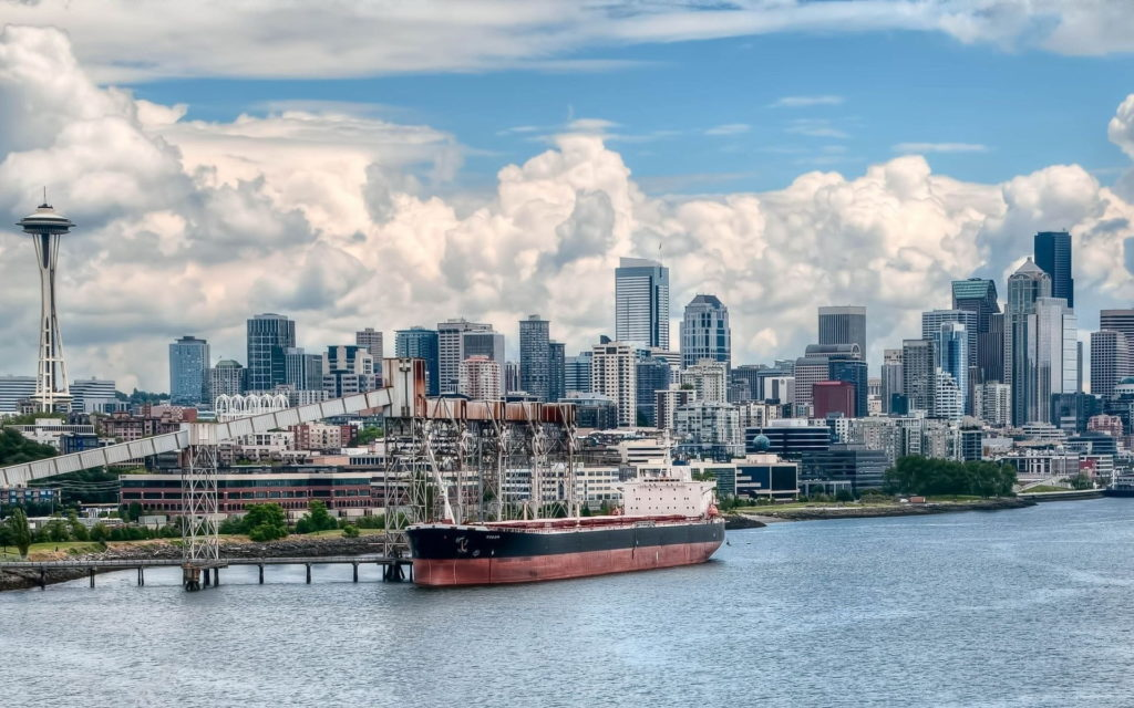 Seattle Widescreen Wallpaper