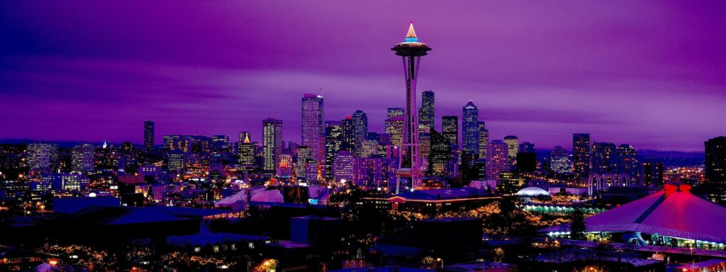Seattle Dual Monitor Wallpaper