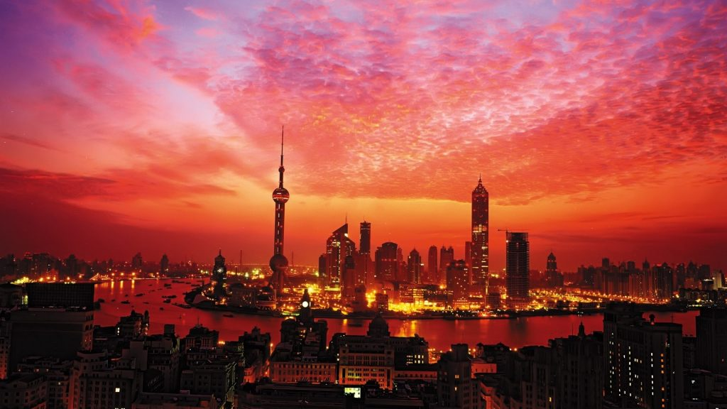 Shanghai Full HD Background