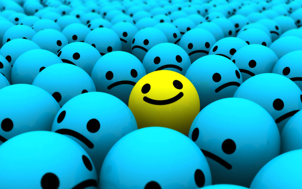 Smiley Widescreen Wallpaper