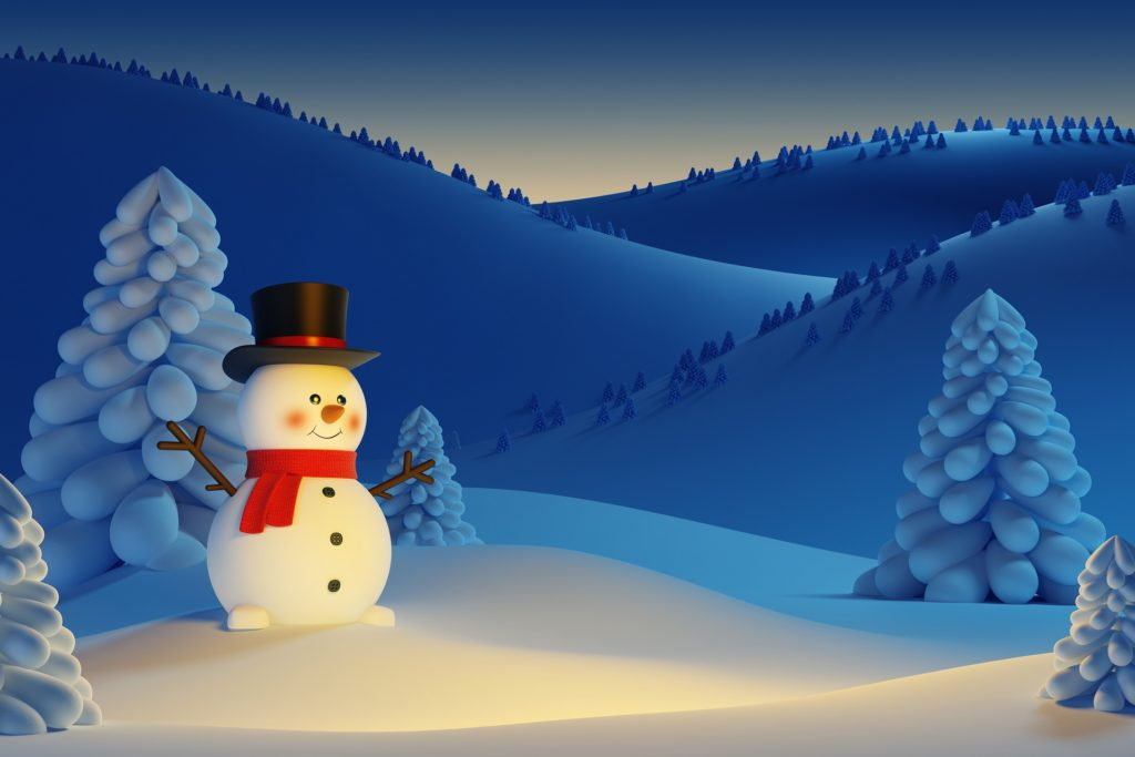 Snowman Wallpaper Widescreen