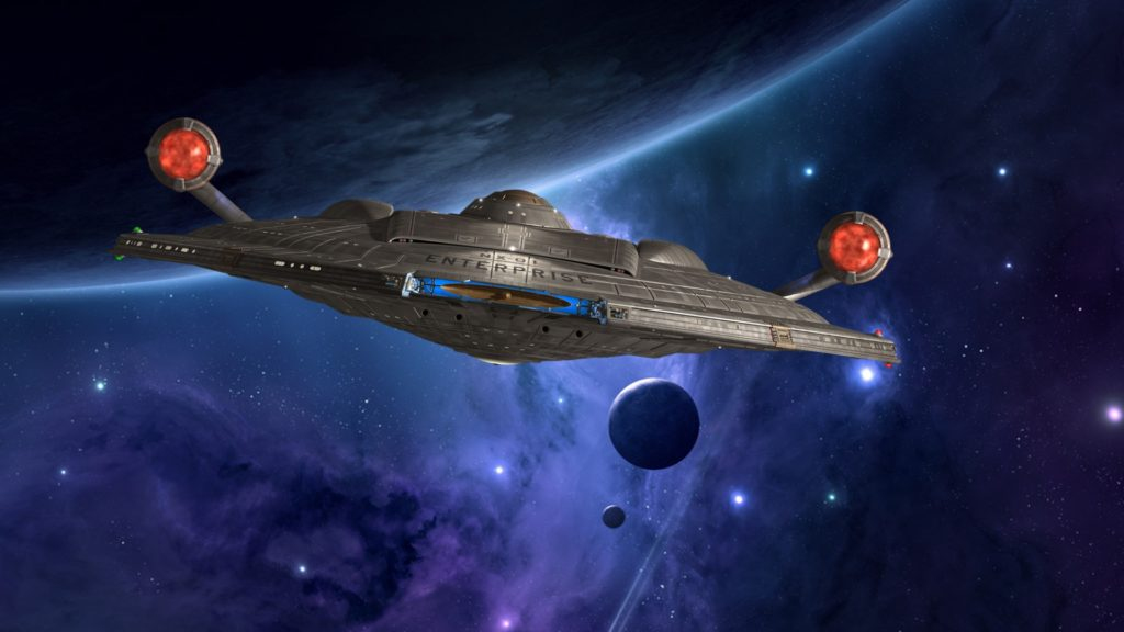 Star Trek: Enterprise Full HD Wallpaper