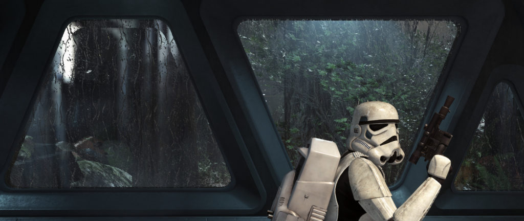 Star Wars Battlefront (2015) Dual Monitor Wallpaper